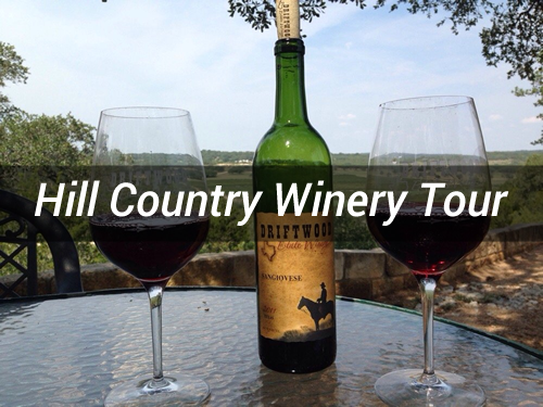 Austin Hill Country Winery Tour